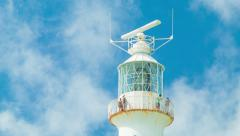 Close-up of Gibb's Hill Lighthouse in Bermuda - stock footage