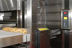 bread bakery oven - stock photo