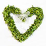 Hearth wreath Stock Photos