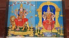 Kuala Lumpur Chinatown Hindu Hindus temple Malaysia Asia - stock footage