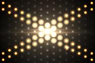 Stock Illustration of Digitally generated disco light background