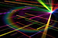 Stock Illustration of Digitally generated disco laser background