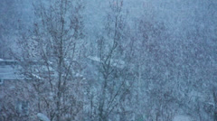 snowing_01 - stock footage