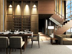 Living Room Design Stock Illustration