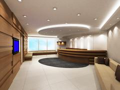 Office Entrance Area Stock Illustration