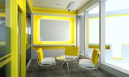 Stock Illustration of Office Meeting Room