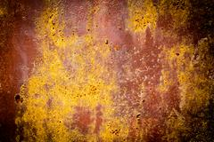 Stock Photo of rusty texture of a metal spatula