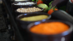 Exotic Spice Stock Footage