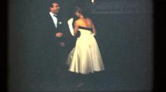 Vintage 16mm dancing , dancehall Stock Footage