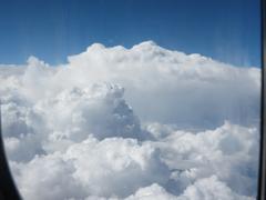 Cloud scape - stock photo