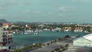 Stock Video Footage of View of Aruba port