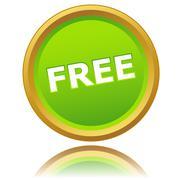 New free icon Stock Illustration