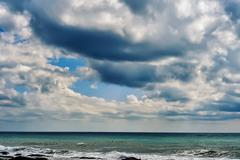 caspian sea. - stock photo