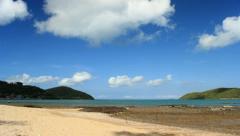 Tourism Sai Kaew beach in Sattahip, Chonburi Stock Footage