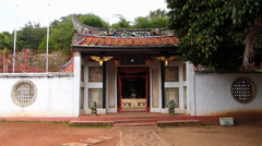 Melaka Malacca Chinese Buddhist Bo Shan Temple Malaysia Asia Stock Footage