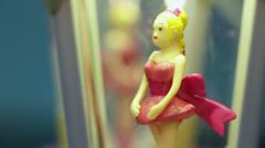 Rotary ballerina - stock footage