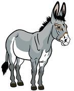 Donkey Stock Illustration