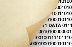 Web data concept Stock Photos