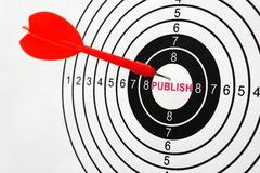Publish target Stock Photos