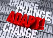 Stock Illustration of adapt when surrounded by change