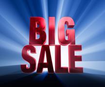 Stock Illustration of big sale