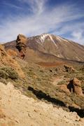 Tenerife, canary islands, spain - volcano teide national park. mount teide Stock Photos