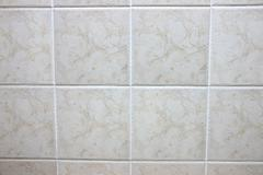 quadrate marble tiles. - stock photo