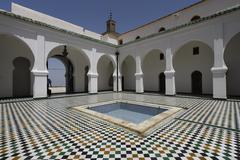 Sidi Boumediene Madrasa courtyard Stock Photos