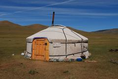 Mongolian Yurt - stock photo