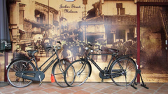 Melaka Malacca Unesco Chinatown old picture of Jonker street Malaysia Asia Stock Footage