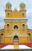 Cathedral, willemstad, curacao, abc islands Stock Photos