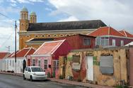 Stock Photo of willemstad, curacao, abc islands