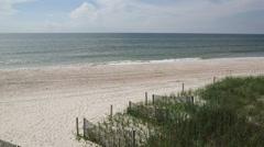 Brunswick County, NC beach Stock Footage