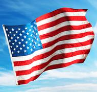 Flag usa Stock Photos