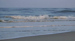 Beautiful Carolina beach waves Stock Footage