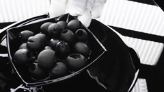 Olives, last nuances of cooking Stock Footage