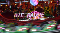 Carousels  Hamburger Dom Stock Footage
