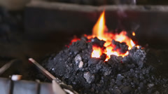 Blacksmith shop Stock Footage