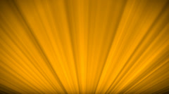 Footlights Yellow Abstract Background Loop 2 - stock footage