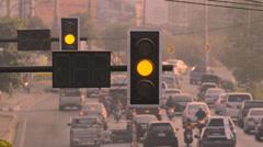 TrafficLight Stock Footage