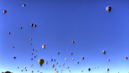 Stock Video Footage of 2013 balloon fiesta timelapse