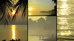 tropical impressions of asia - stock footage