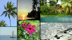 Tropical impressions of asia Stock Footage