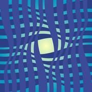 simple abstract bluish patterns - stock illustration