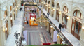 GUM shopping center, Moscow, Russia 7 HD Footage