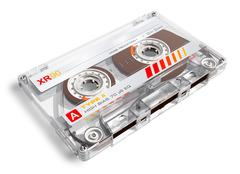 Old audio cassette Stock Photos