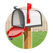 Mail box Stock Illustration