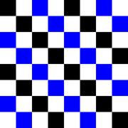 blue, black and white pixel pattern. - stock illustration