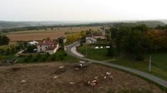 Saint-Blancard-Lunax Stock Footage