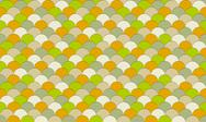 Stock Illustration of colorful fish scale pattern